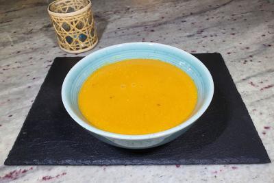 Sweet Potato, Coconut & Chilli Soup